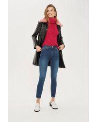TOPSHOP - Petite Sidney Jeans - Lyst
