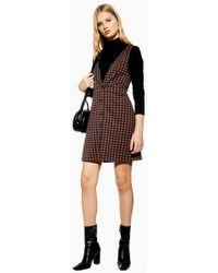 TOPSHOP Breton Stripe Pj Dress in Blue - Lyst 595a2a5de