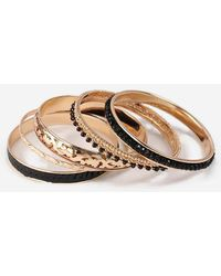 TOPSHOP - sequin Bangle Pack - Lyst