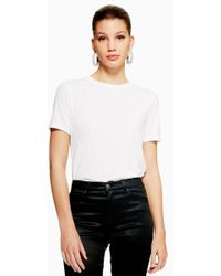 TOPSHOP - Tall Oversized Boxy T-shirt - Lyst