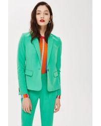 TOPSHOP - Petite Single Breasted Suit Jacket - Lyst