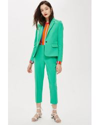 TOPSHOP - Tall Suit Trousers - Lyst