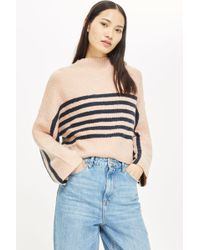 TOPSHOP - Striped Jumper By Native Youth - Lyst