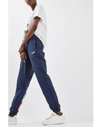 Reebok - Logo Track Trousers By - Lyst