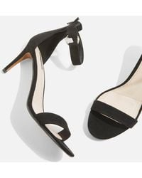 TOPSHOP - Ring Heeled Sandals - Lyst