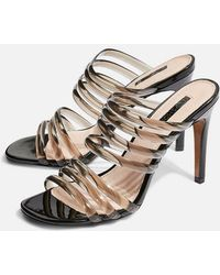 TOPSHOP - Rizzo Mules - Lyst