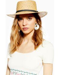 Lyst Coloris Chapeau En Marron Cuir Hermès 8nOPk0w
