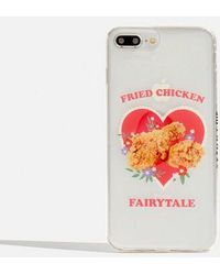Skinnydip London - Fried Chicken Iphone 6/6s/7 Plus & 8 Plus Case By Skinnydip - Lyst