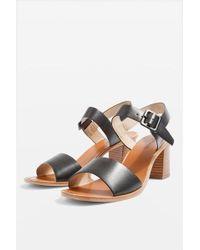 TOPSHOP - Nancy Two Part Sandals - Lyst