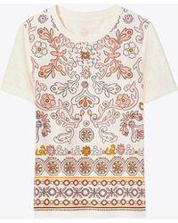 Tory Burch - Kayla T-shirt - Lyst