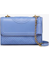 2afe53aff947 Tory Burch - Fleming Small Convertible Shoulder Bag - Lyst