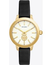 Tory Burch - Collins Watch, Stainless Steel/ivory, 38 Mm - Lyst