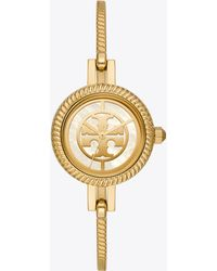 Tory Burch - Reva Bangle Watch, Multi-color/gold-tone, 29 Mm - Lyst