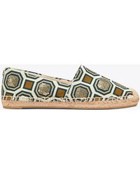 Tory Burch - Cecily Embellished Espadrille - Lyst