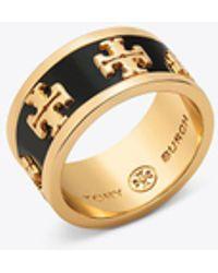 Tory Burch - Logo Ring - Lyst