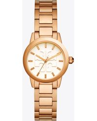 Tory Burch - Gigi Watch, Rose Gold/ivory, 28mm - Lyst