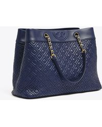 Tory Burch - Fleming Triple-compartment Tote - Lyst