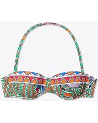 Tory Burch - Color-blocked Underwire Bra Top - Lyst