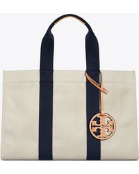 Tory Burch - Miller Large Canvas Tote - Lyst
