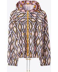 Tory Burch - Devon Packable Jacket - Lyst