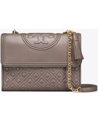 c3588f0abf0 Tory Burch Duet Chain Convertible Shoulder Bag in Blue - Lyst