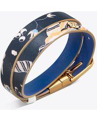 Tory Burch - Happy Times Double-wrap Reversible Bracelet - Lyst