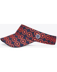 Tory Burch - Printed Adjustable Performance Visor - Lyst