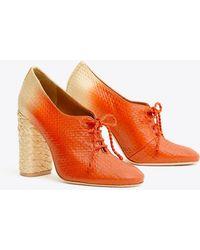 30a796f81189dd Lyst - Women s Tory Burch Heel and high heel boots Online Sale