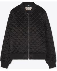 Tory Sport - Tory Burch Quilted Bomber Jacket - Lyst