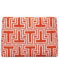 Tory Burch - T Terry Cosmetic Case - Lyst