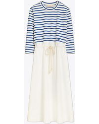 Tory Burch - Striped Knit Dress | 443 | Other Dresses - Lyst