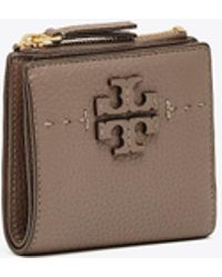 Tory Burch - Mcgraw Mini Foldable Wallet | 001 | Mini - Lyst