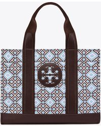 Tory Burch - 4t Printed Tote - Lyst