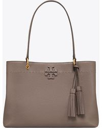 Tory Burch - Three-compartment Mcgraw Tote Bag - Lyst