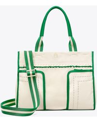 Tory Sport - Perforated Ruffle Tote - Lyst