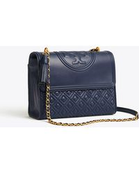 6ad8899ff07 Tory Burch - Fleming Convertible Shoulder Bag - Lyst