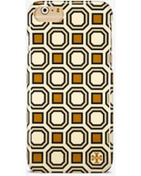 Tory Burch - Geo Hardshell Case For Iphone 8 - Lyst