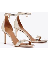 Tory Burch - Ellie Metallic Ankle-strap Sandal - Lyst