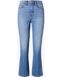 Tory Burch - Cropped Boot-leg Jean - Lyst