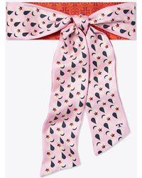 Tory Burch - Heart Star Silk Necktie - Lyst