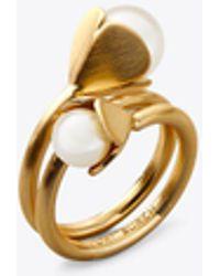 Tory Burch - Bellflower Ring - Lyst
