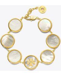 Tory Burch - Semiprecious Multi Bracelet - Lyst