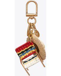 Tory Burch - Beach Chair Key Ring - Lyst