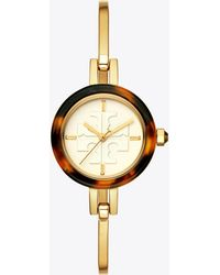 Tory Burch - Gigi Bangle Watch, Multi-color/gold-tone, 27 Mm - Lyst
