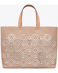 Tory Burch - Octagon Tote - Lyst