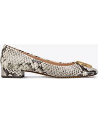 Tory Burch - Chelsea Embossed Heeled Ballet Flat - Lyst