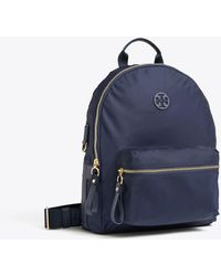 ba620052c4d0 Lyst - Tory Burch Scout Mini Nylon Backpack in Blue