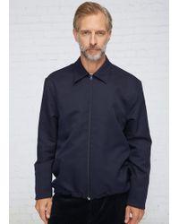 Marni - Blue Navy Zip Jacket - Lyst