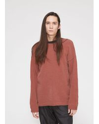 Our Legacy - Popover Roundneck - Lyst