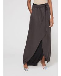 25d50fe92964 Women's Vetements Mid-length skirts On Sale - Lyst